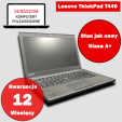 Laptop ThinkPad T440 Core i7, 8GB RAM, 240GB SSD, GW 12M, FV23%